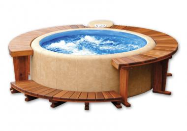Softub Whirlpool 220 Legend Innenliner blue