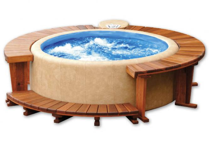 Softub Whirlpool 300 Resort Innenliner blue