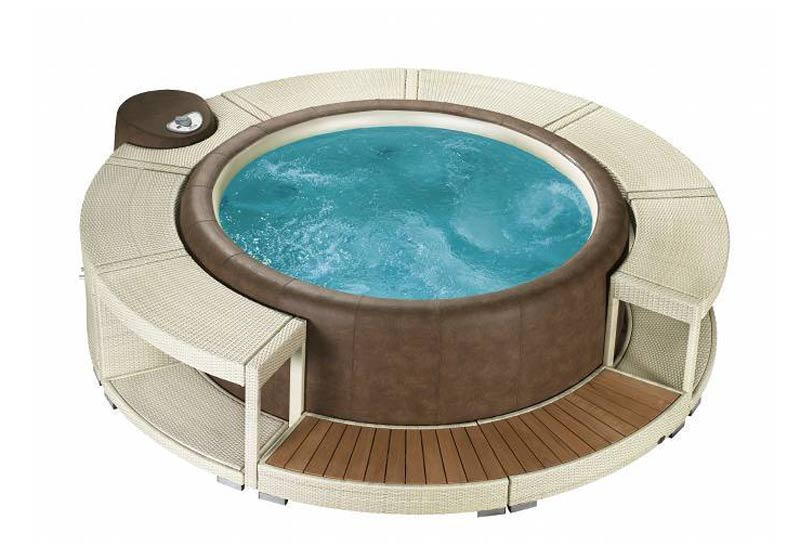 Whirlpoolumrandung White Chocolate Für Softub Resort U0026 Legend